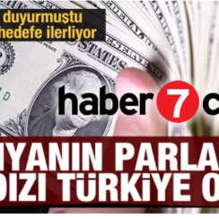 HABER7 – Erdoğan açıklamıştı Türkiye hedefe ilerliyor! Dünyanın parlayan yıldızı Türkiye oldu