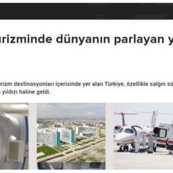 TRT – Türkiye, özellikle salgın sürecinde sağlık turizminin parlayan yıldızı haline geldi.